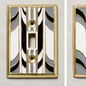 Anthropologie Single switch plate